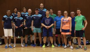Hobbyliga 1. BC gegen Team München